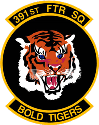Bold Tigers - 391st Fighter Squadron, Military Air Simulation